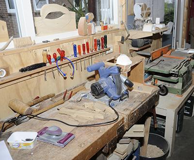 werkplaats-atelier Jan Franssen