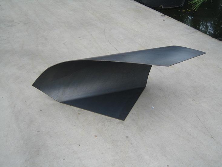 Staal 115 X 50 X 40 cm.-Atelier Franssen